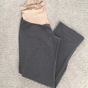 Motherhood Grey Maternity Dress Pants XL